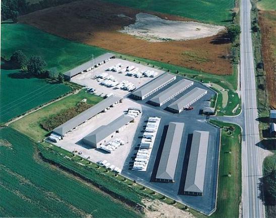 Gentil Sauk Trail Storage   Aerial Photo